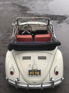 1960 VW karmann beetle cabriolet