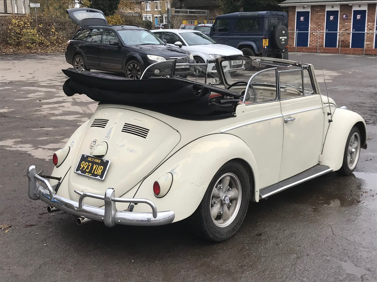 1960 VW karmann beetle cabriolet For Sale (picture 2 of 6)