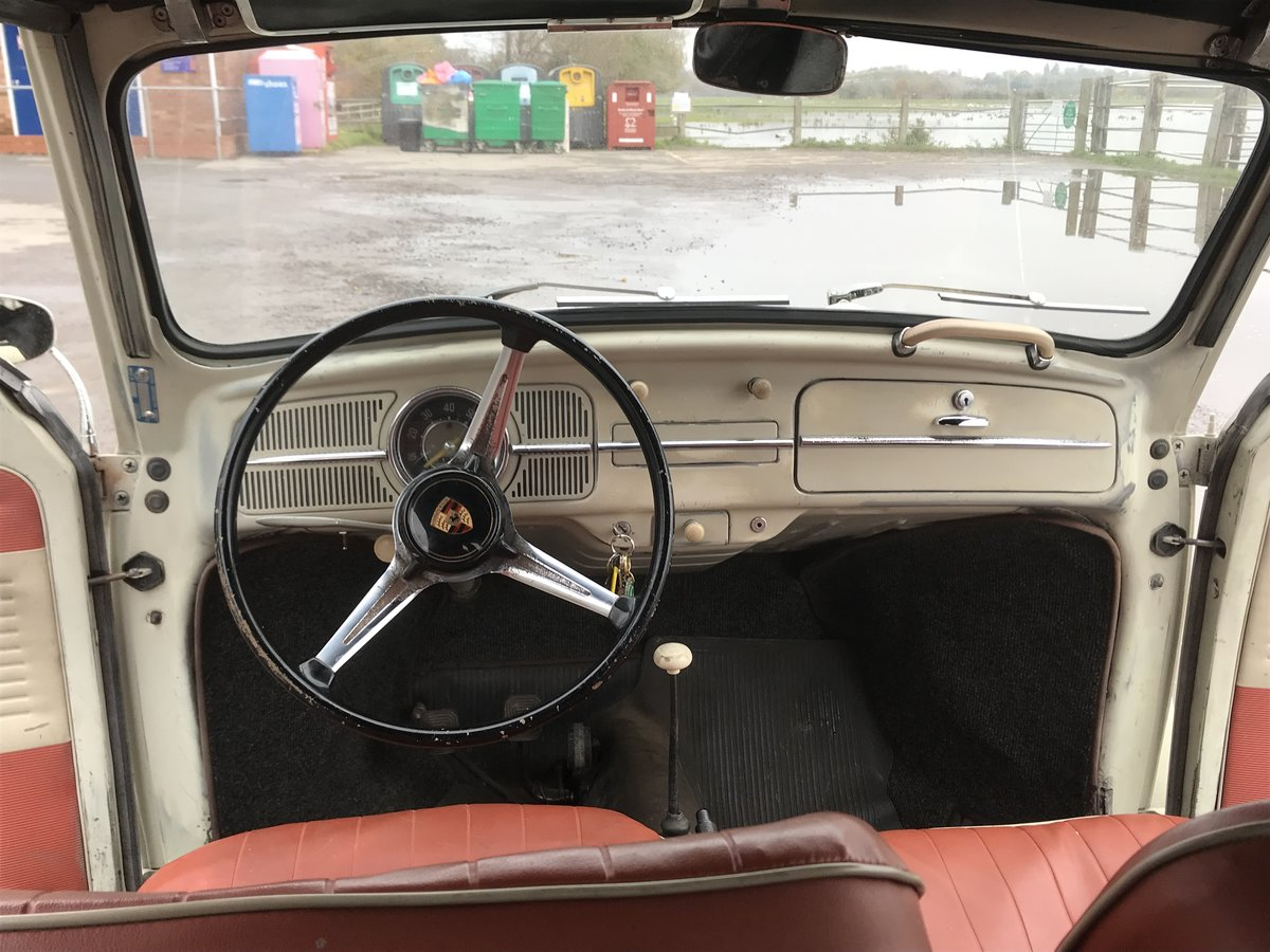 1960 VW karmann beetle cabriolet For Sale (picture 4 of 6)