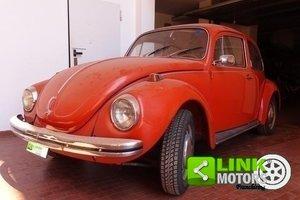 1971 Volkswagen Maggiolino VETRO PIATTO **TARGHE ORIGINALI** For Sale