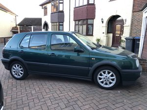 1996 VW Golf GTI MK3 8v - 3 owners Dragon Green