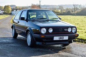 1989 VW VOLKSWAGEN GOLF MK2 GTI 16V BLACK 3DR  SMALL BUMPER