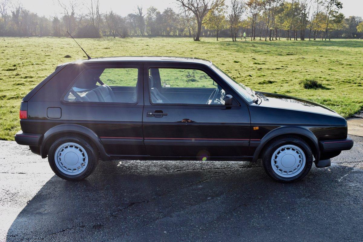 VW VOLKSWAGEN GOLF MK2 GTI 16V BLACK 3DR 1989 SMALL BUMPER For Sale (picture 3 of 9)