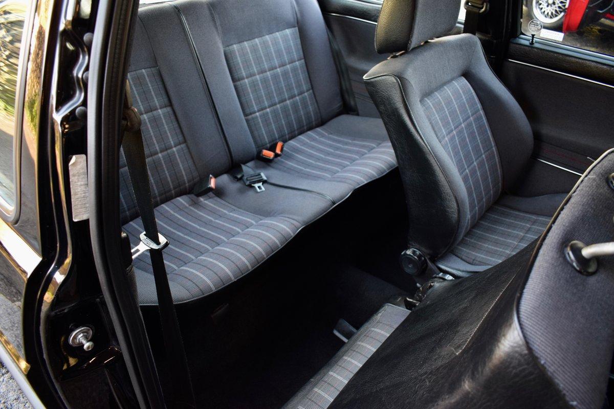 VW VOLKSWAGEN GOLF MK2 GTI 16V BLACK 3DR 1989 SMALL BUMPER For Sale (picture 6 of 9)