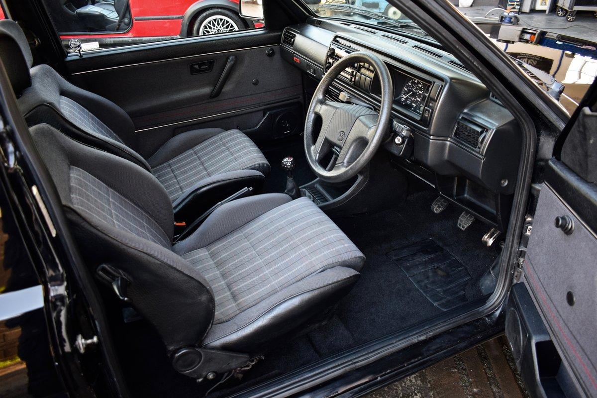 VW VOLKSWAGEN GOLF MK2 GTI 16V BLACK 3DR 1989 SMALL BUMPER For Sale (picture 7 of 9)