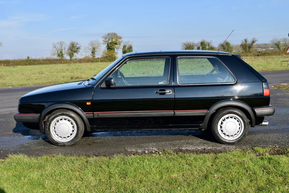 VW VOLKSWAGEN GOLF MK2 GTI 16V BLACK 3DR 1989 SMALL BUMPER For Sale (picture 8 of 9)