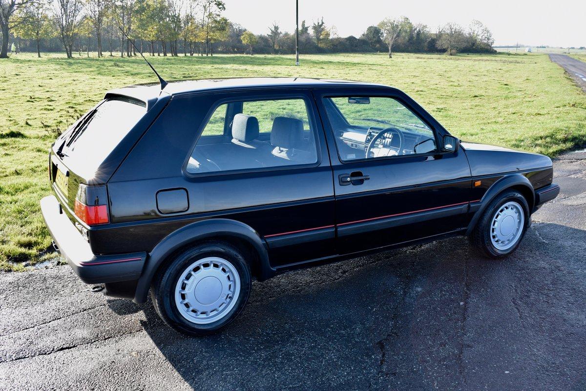 VW VOLKSWAGEN GOLF MK2 GTI 16V BLACK 3DR 1989 SMALL BUMPER For Sale (picture 9 of 9)