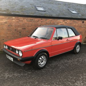 1985 VW Golf MK1 GTi Cabriolet *Deposit Received*
