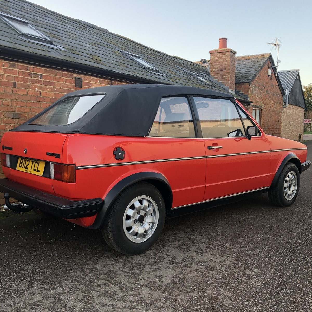 1985 VW Golf MK1 GTi Cabriolet For Sale (picture 2 of 5)