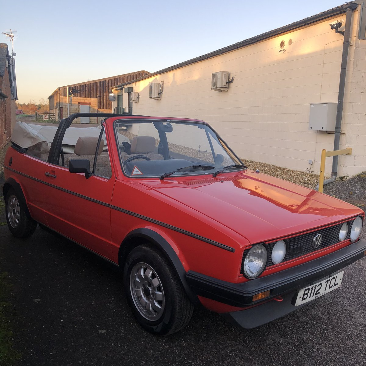 1985 VW Golf MK1 GTi Cabriolet For Sale (picture 3 of 5)
