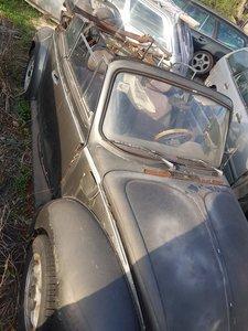 1975 Beetle 1302 cabriolet - full restoration needed