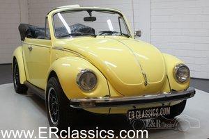 Volkswagen Beetle 1303 Cabriolet 1975 For Sale
