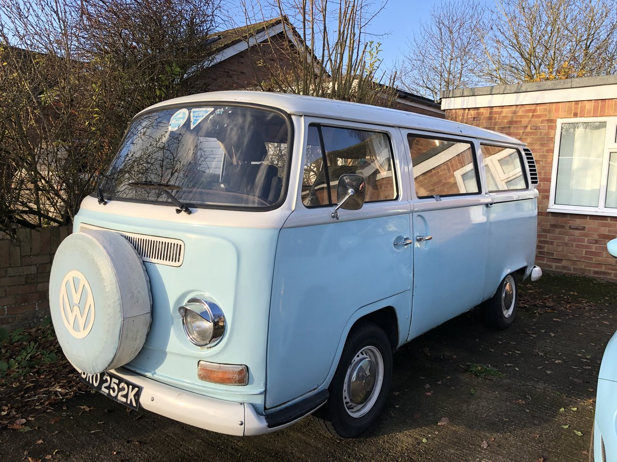 1971 VW T2 Bay Window Camper Van Crossover For Sale (picture 1 of 6)