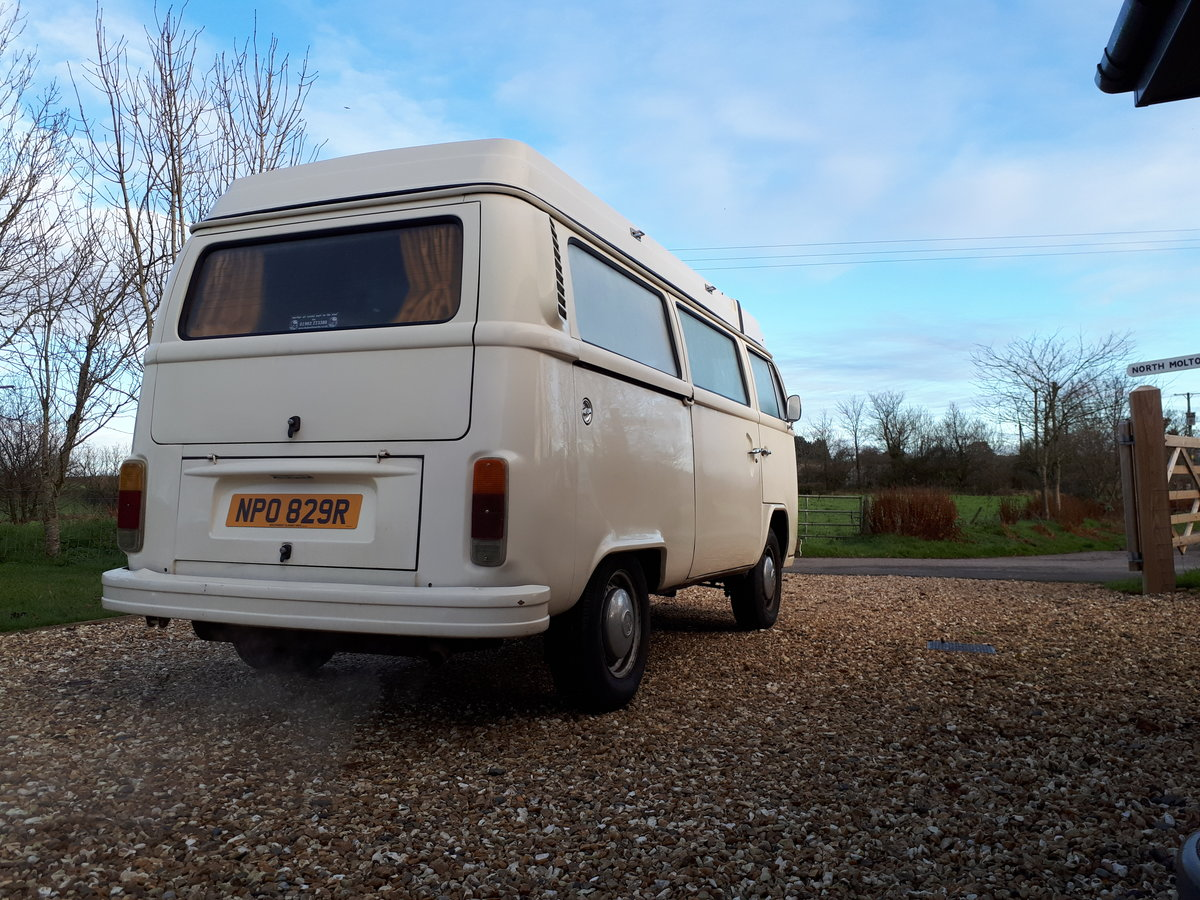 *PRICE REDUCED* 1977 LHD VW Westfalia Camper For Sale (picture 2 of 6)