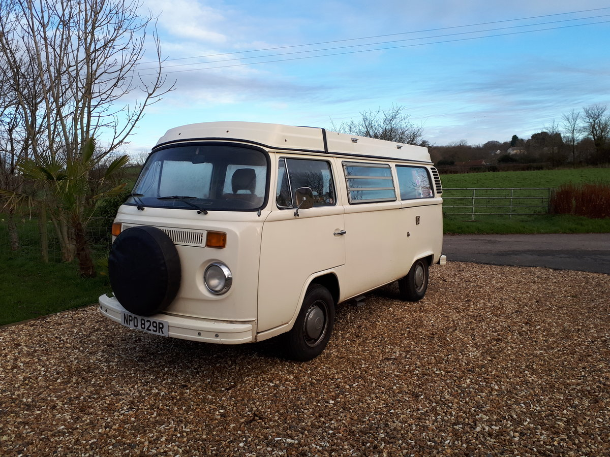 *PRICE REDUCED* 1977 LHD VW Westfalia Camper For Sale (picture 1 of 6)