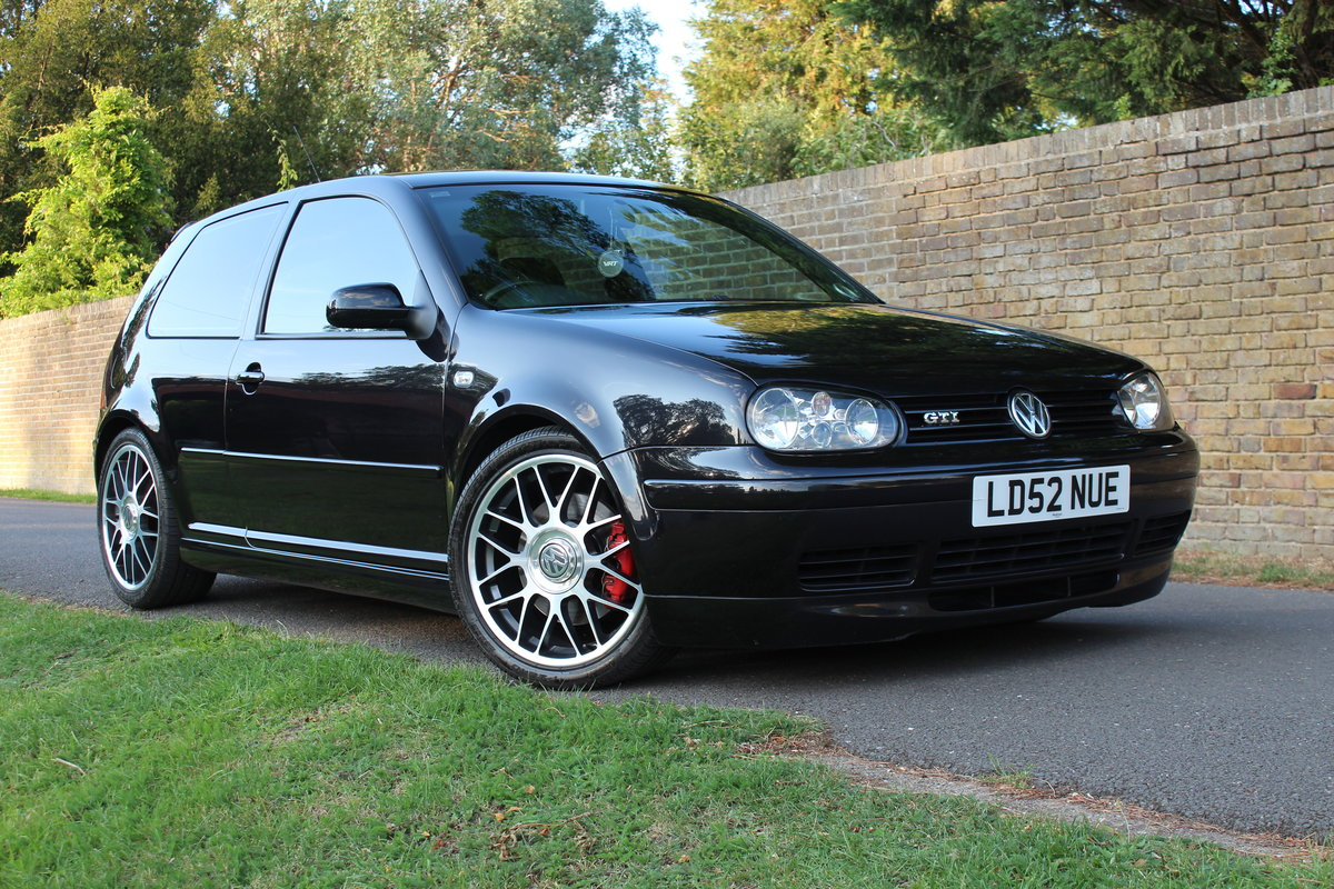 2002 Volkswagen Golf GTI 25TH Anniversary *SOLD SIMILAR REQUIRED* SOLD (picture 1 of 6)