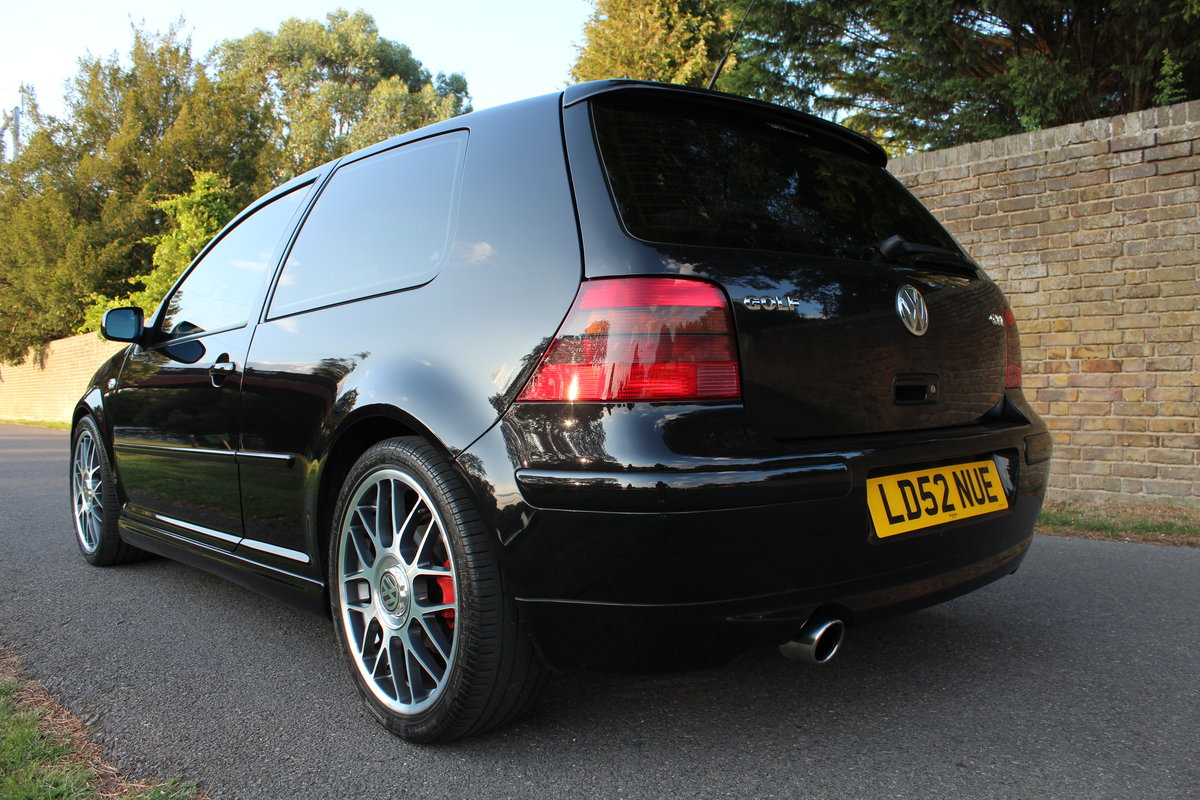 2002 Volkswagen Golf GTI 25TH Anniversary *SOLD SIMILAR REQUIRED* SOLD (picture 2 of 6)