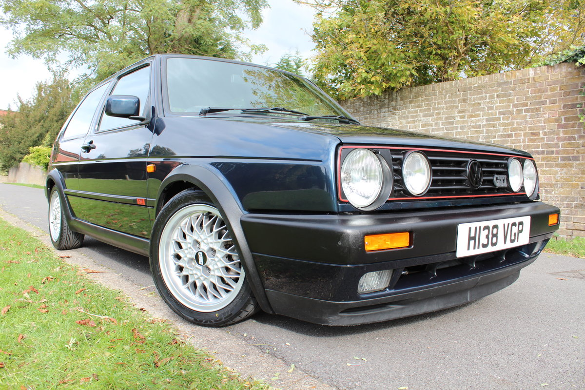 1991 VW Golf GTI MK2 *SOLD SIMILAR ALWAYS REQUIRED* SOLD (picture 1 of 3)