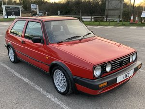 1991 VW GOLF MK2 GTI 16V TORNADO RED 3DR For Sale