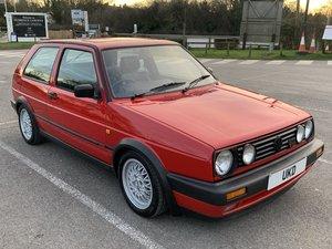 1991 VW GOLF MK2 GTI 16V TORNADO RED 3DR