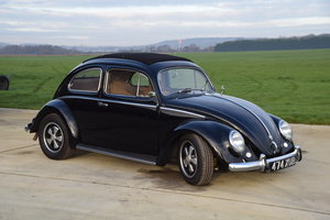 1953 VW Beetle  Oval Window Rag Top RHD Restored...
