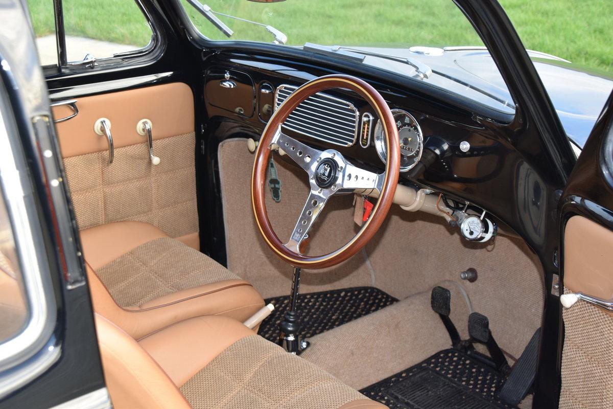 VW Beetle 1953 Oval Window Rag Top RHD Restored... For Sale (picture 2 of 11)