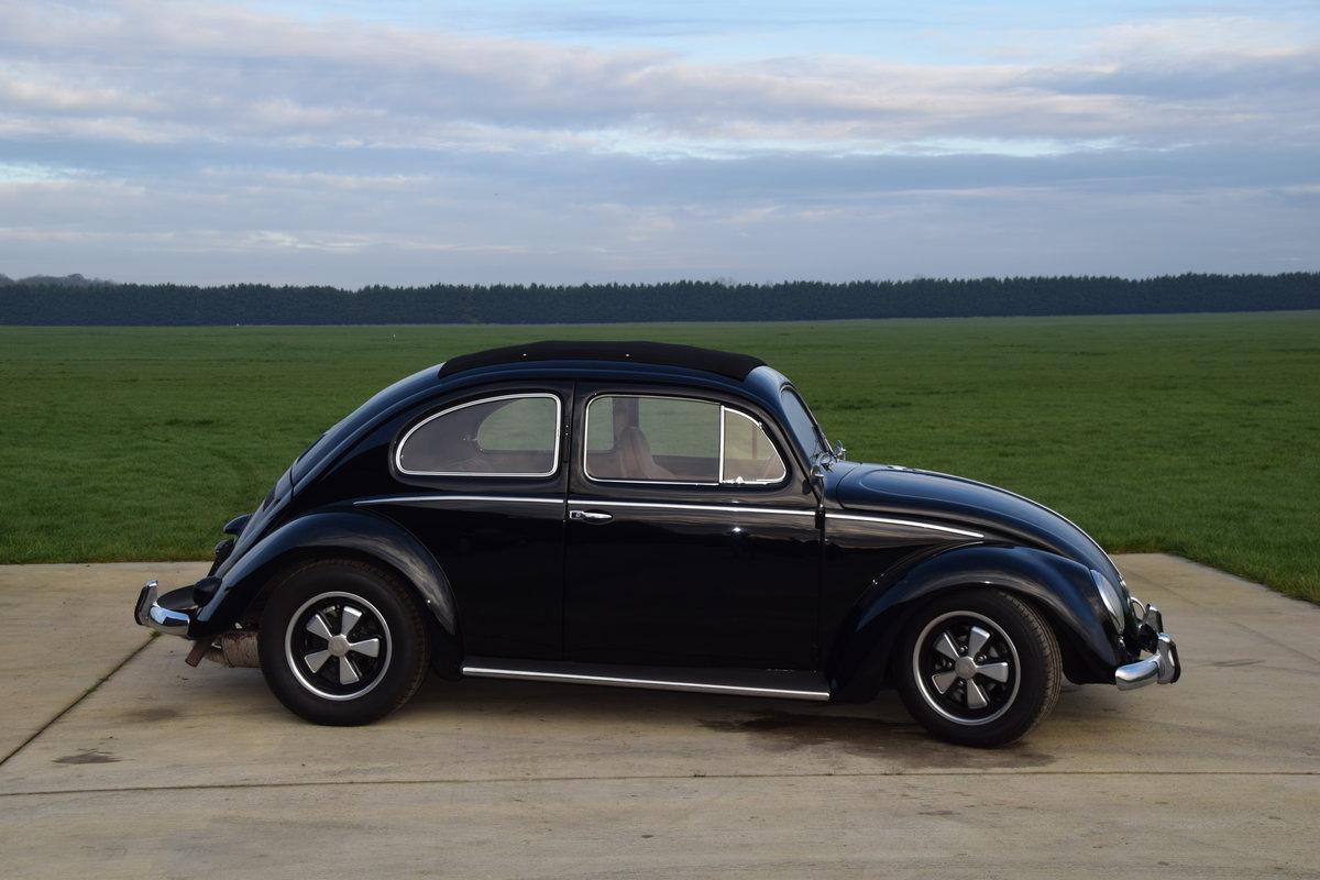 VW Beetle 1953 Oval Window Rag Top RHD Restored... For Sale (picture 3 of 11)