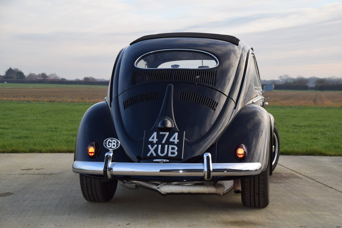 VW Beetle 1953 Oval Window Rag Top RHD Restored... For Sale (picture 8 of 11)