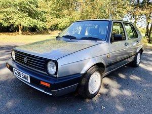 1990 Golf Mk 2 1.8gl fsh 72400 For Sale