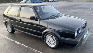 1990 VW VOLKSWAGEN GOLF MK2 GTI 1.8 8V 3DR BLACK BIG BUMPER 1991