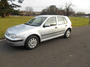 2002 VW GOLF SOLD