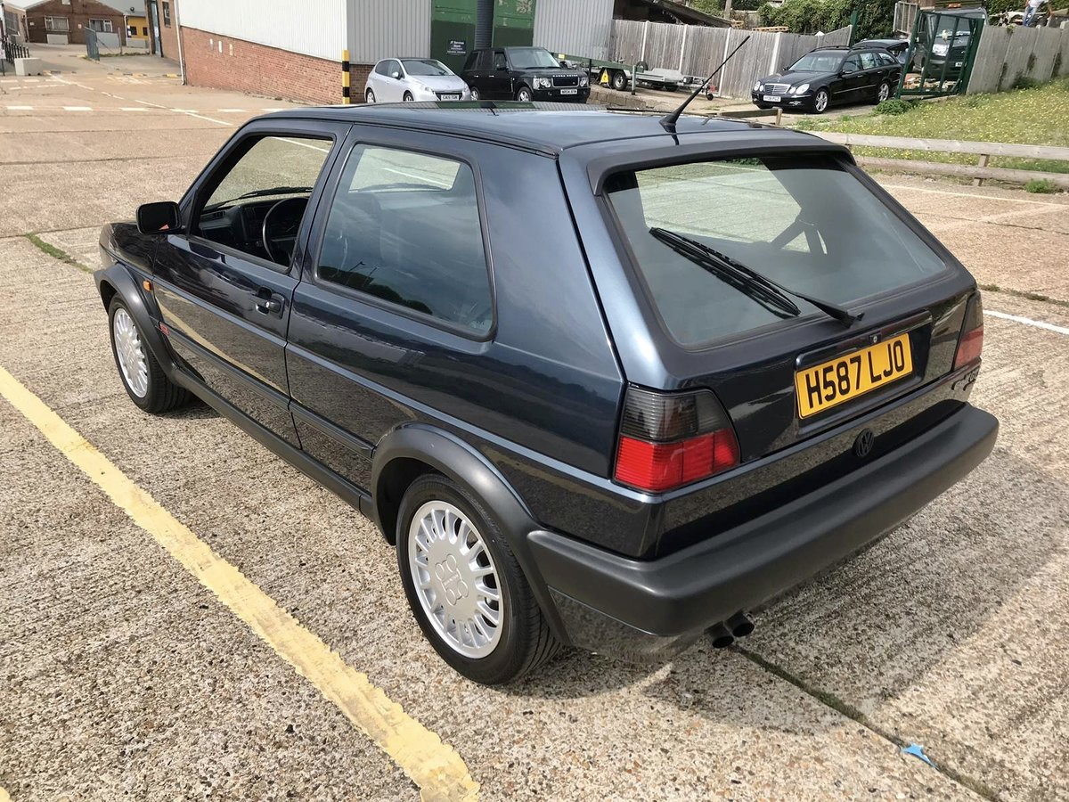 1990 Volkswagen MK2 Genuine G60 Blue 3dr For Sale (picture 2 of 6)