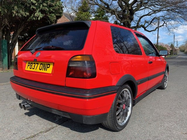 1996 VW GOLF ANNIVERSARY MK3 2L LOW MILEAGE For Sale (picture 3 of 6)