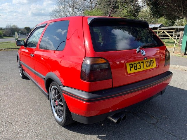 1996 VW GOLF ANNIVERSARY MK3 2L LOW MILEAGE For Sale (picture 4 of 6)
