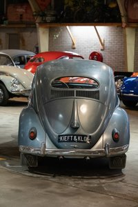 1957 Volkswagen Oval window Beetle,  SOLD