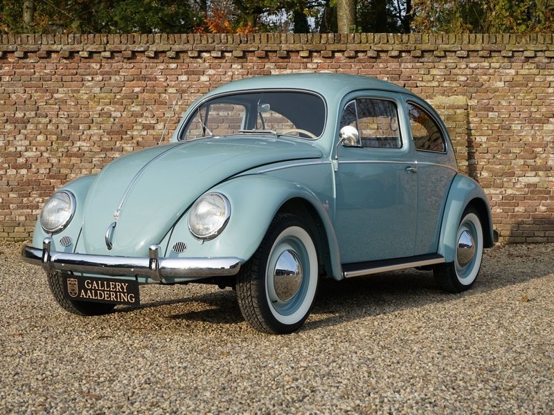 1956 Volkswagen Beetle Oval 'Ovali', fully restored condition, or For Sale (picture 1 of 6)