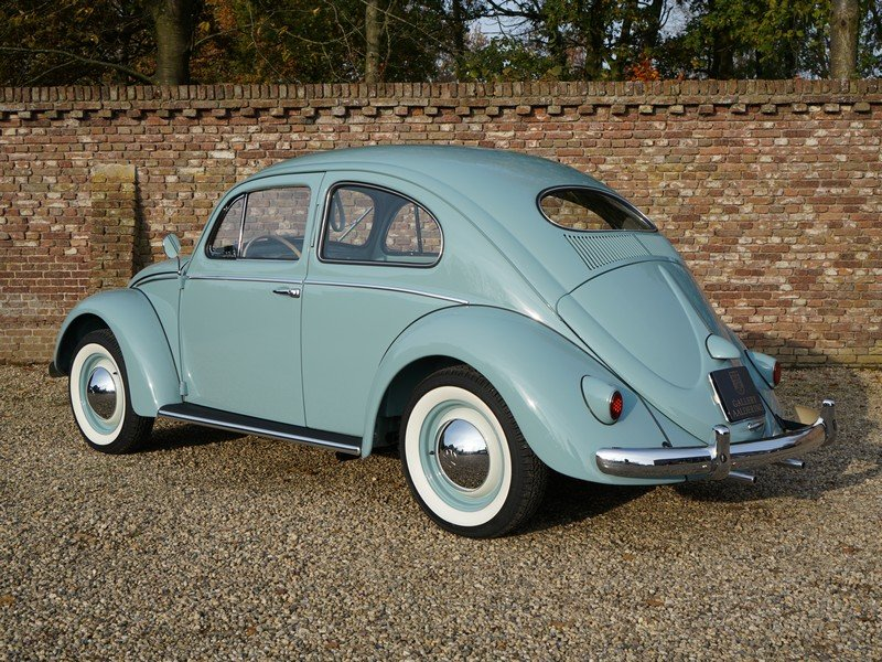 1956 Volkswagen Beetle Oval 'Ovali', fully restored condition, or For Sale (picture 2 of 6)