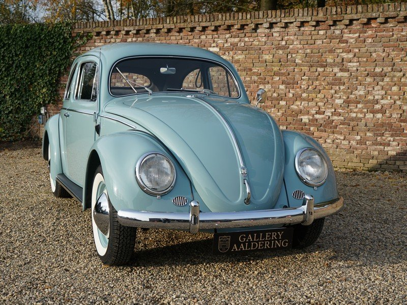 1956 Volkswagen Beetle Oval 'Ovali', fully restored condition, or For Sale (picture 5 of 6)