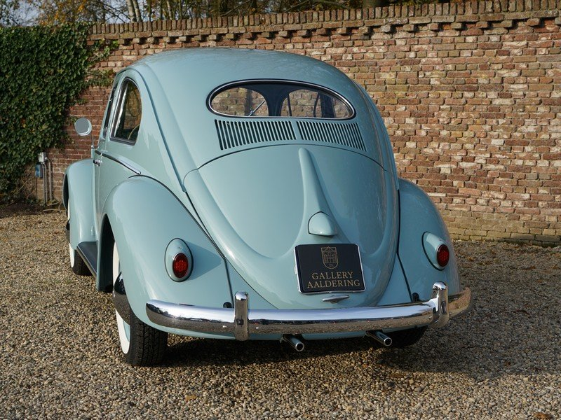 1956 Volkswagen Beetle Oval 'Ovali', fully restored condition, or For Sale (picture 6 of 6)