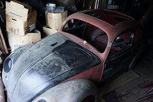 1955 Beetle / Käfer Oval  ragtop For Sale
