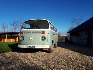 *PRICE REDUCED* 1977 RHD VW Tin Top Camper