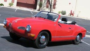 1970 VW Karmann Ghia Convert RARE Auto 1600 New Top $13.9k