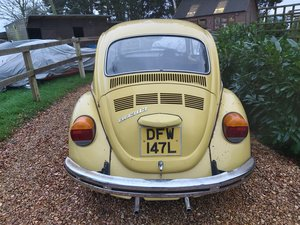 vw beetle 1972 easy winter project all driving  For Sale
