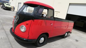 1962 V~W Transporter Kombi 1600 clean Red(~)Black $25.5K For Sale