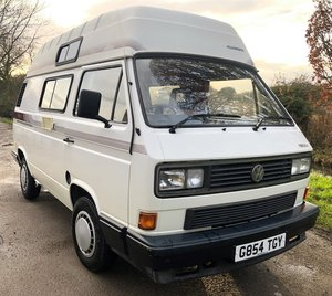 1990 VW T25 T3 camper Van - Holdsworth Villa 3 High Top