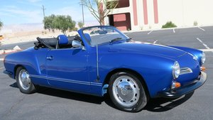 1972 Volkswagen Karmann Ghia New Paint+ 1600 $13.9k For Sale