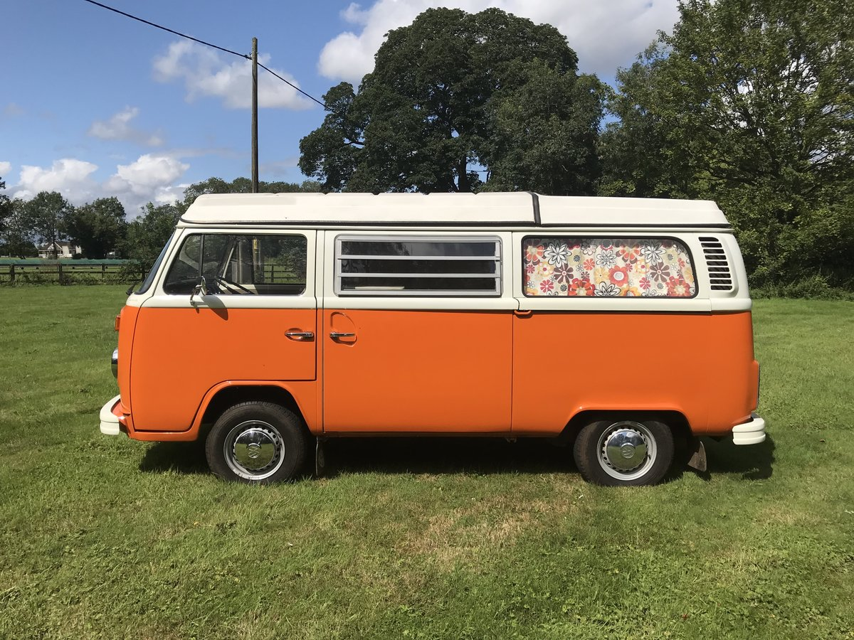 1973 TYPE 2 BAY WINDOW WESTFALIA CONTINENTAL CAMPER RHD For Sale (picture 1 of 6)
