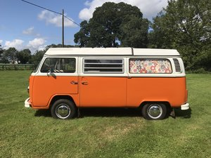 TYPE 2 BAY WINDOW WESTFALIA CONTINENTAL CAMPER RHD