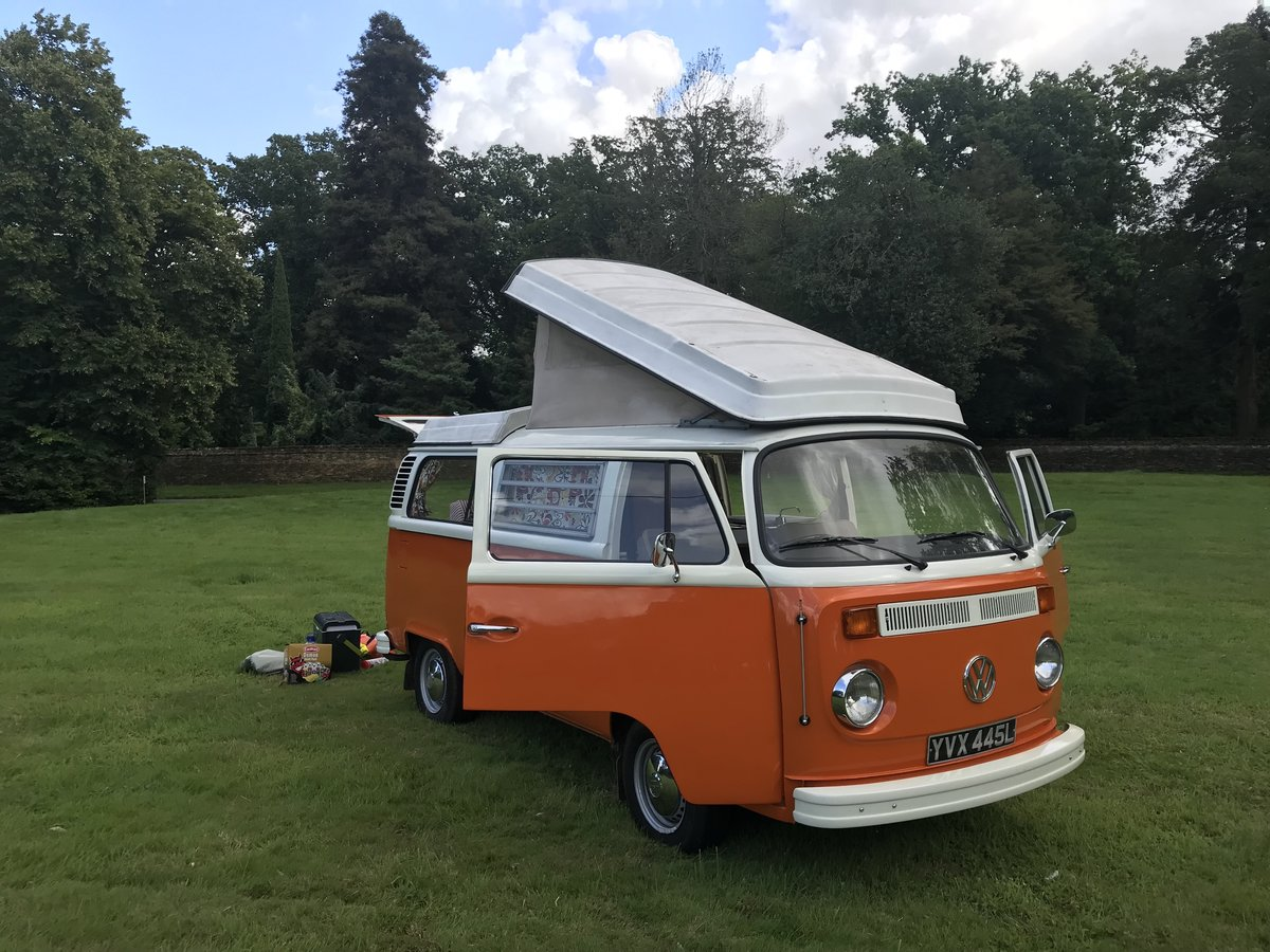 1973 TYPE 2 BAY WINDOW WESTFALIA CONTINENTAL CAMPER RHD For Sale (picture 2 of 6)