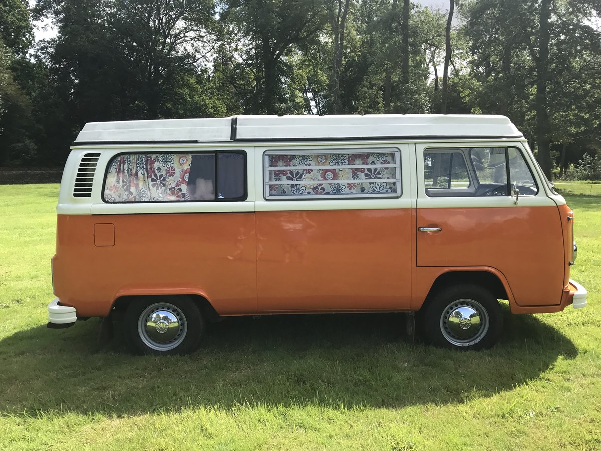1973 TYPE 2 BAY WINDOW WESTFALIA CONTINENTAL CAMPER RHD For Sale (picture 3 of 6)